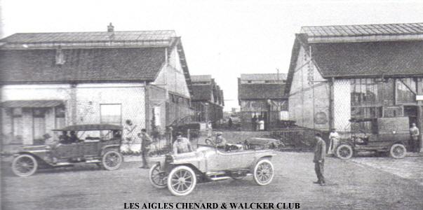 historique chenard  u0026 walcker