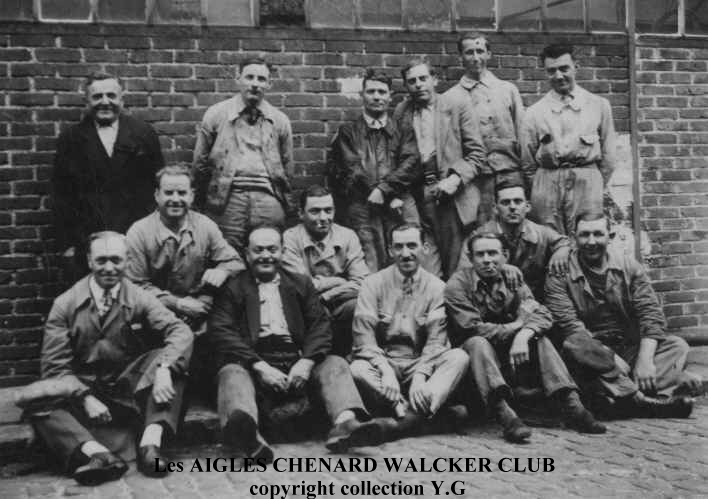 Les AIGLES CHENARD WALCKER CLUB